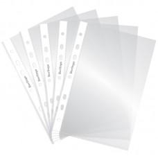 Папка-вкладыш с перфорацией Berlingo, А5, 30мкм, глянц 100шт