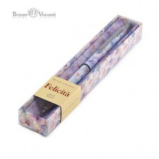 """Ручка шар. BV Felicita """"Цветы. Нежность"""" 20-0263/08 синяя,0,7мм,металл."""