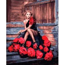 """Картина по номерам Color KIT """"Красота роз"""" GX34652 40*50см"""
