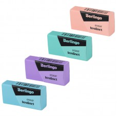 "Ластик Berlingo ""Instinct"", термопластичная резина, цвета ассорти, 40*20*10мм"