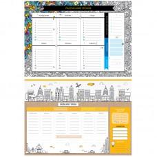 """Расписание уроков с расписанием звонков A3 ArtSpace, """"Пиши-стирай. Draw it"""""""