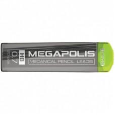 Грифель запасной Erich Krause «Megapolis», 20 шт., 0,7 мм, HB
