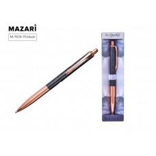 Ручка в футляре автоматическая MAZARI To Sparkle-2 1 0мм металл черный корпус синяя
