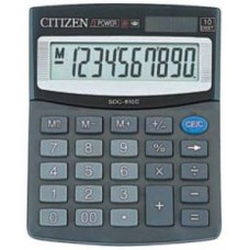 Калькулятор CITIZEN SDC-805BN 8разр.наст.2пит.125*100