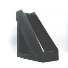 Лоток вертик.1-секц.СТАММ Базис черный