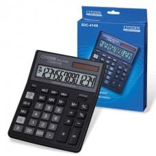 Калькулятор  CITIZEN SDC-414N 14разр.наст.2пит.200*150