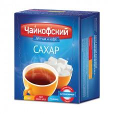 """Сахар-рафинад """"Чайкофский"""", 0,5 кг (98 кусочков, 15х16х21 мм), высший сорт по ГОСТу, картонная упаковка"""