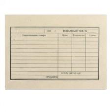 Бланк Товарный чек, А6 97*134мм, (100шт.)