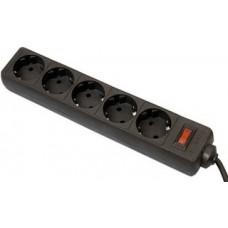 Сетевой фильтр DEFENDER ES 5розеток.5м.черный