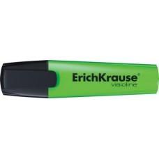 Текст-маркер Erich Krause скош. 5мм. V-12. зеленый