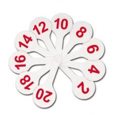 Касса-веер цифр (1-20) СТАММ