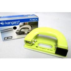 Дырокол KANGARO 11л. метал. зеленый