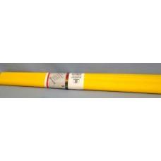 Бумага креповая Германия(50х250см). желтая (гофриров.)