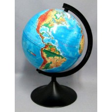 Глобус d=21см. ОПЛА. физический. пласт. подставка