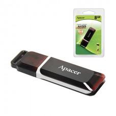 Флэш-диск APACER 8GB Handy Steno AH321 USB 2.0, скорость чтения/записи - 10/3 Мб/сек