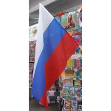 Флаг России 75*120см. ЕТ. ручка