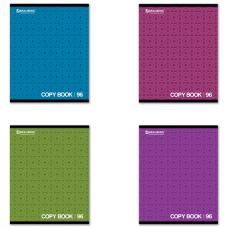 Тетрадь 96л. BRAUBERG кл, обл.мел.карт., монохром2 (4 вида)