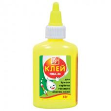 Клей ПВА 65гр.ЛУЧ.цветной флакон