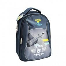 Рюкзак BG Start 40см. Flying Patrol. светоотраж. серый/синий