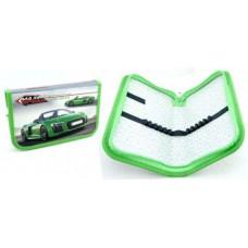 Пенал 1 молния 190*115 ИДП глянцевая ламинация Зеленое авто