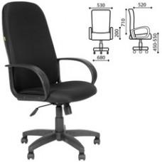 """Кресло офисное """"Фаворит"""", СН 279, высокая спинка, с подлокотниками, черное"""
