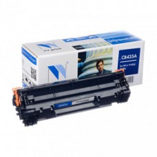 Картридж лазерный HP (CB435A) LaserJet P1005/P1006, ресурс 1500 стр. NV PRINT