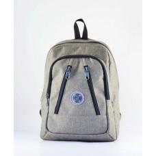 Рюкзак 40 см T 281.4 серый джинс