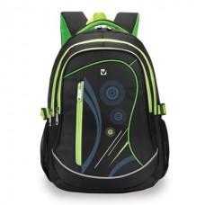"""Рюкзак BRAUBERG (БРАУБЕРГ) для старших классов/студентов/молодежи, """"Неон"""", 30 литров, 46х34х18 см"""
