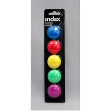 Магнит INDEX IMG30/5 5шт 3см